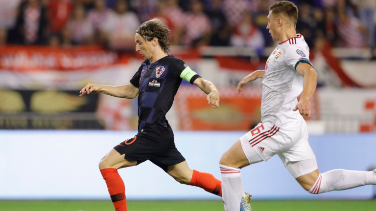 Хърватия победи Унгария с 3:0 в мач от група Е