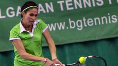 Шиникова на четвъртфинал в Словакия
