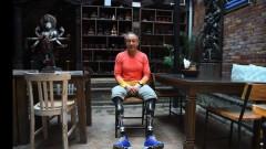 Мъж без крака изкачи Еверест