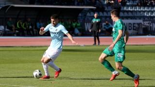Дунав - Витоша 0:0 (Развой на срещата по минути)