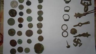 Иззеха множество антични монети при спецакция в Старозагорско
