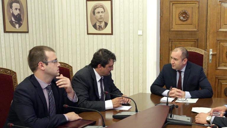 Радев поговори първо с шефа на ВАС за съдебната реформа
