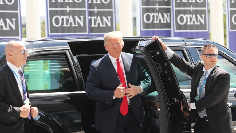 Тръмп поиска 4% от БВП за отбрана на държавите в НАТО