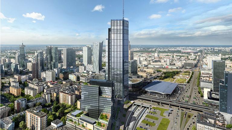 310 метра над земята: Скоро Европа ще има нова най-висока сграда. И тя ще се намира в Полша