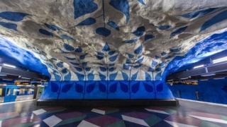 Изкуството на стокхолмското метро (снимки)