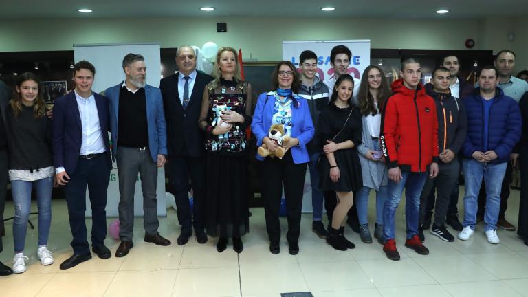 Заместник-министърът на младежта и спорта Стоян Андонов изпрати българските спортисти,