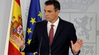 Самолетът на испанския премиер Санчес се повреди при опит за излитане от Мадрид