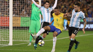 Сампаоли дебютира с победа начело на Аржентина, би Бразилия!
