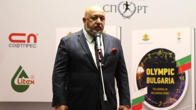 """Министър Кралев и близо 200 олимпийски медалисти присъстваха на представянето на книгата """"България на Олимп"""""""