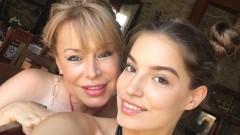 Мира Добрева се гордее с прекрасна дъщеря (СНИМКА)