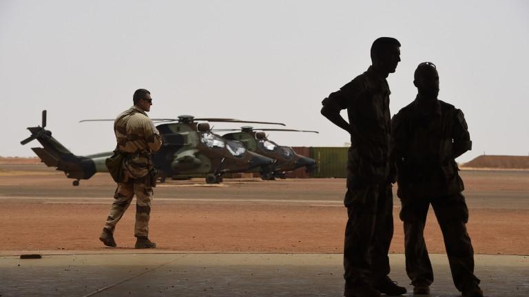 Френската армия извърши първи удар с дрон при операции в Мали