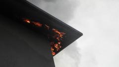 Възрастен мъж загина при пожар в дома си в Русенско