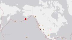 Предупреждение за цунами след земетресение 7,8 по Рихтер в Аляска