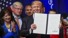 """Тръмп подписа """"Купувай американско, наемай американец"""""""