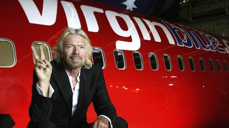 Милиардерът Ричард Брансън търси купувач на авиокомпанията си Virgin Atlantic