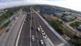 Градски автобус се заби в кола на Аспаруховия мост във Варна