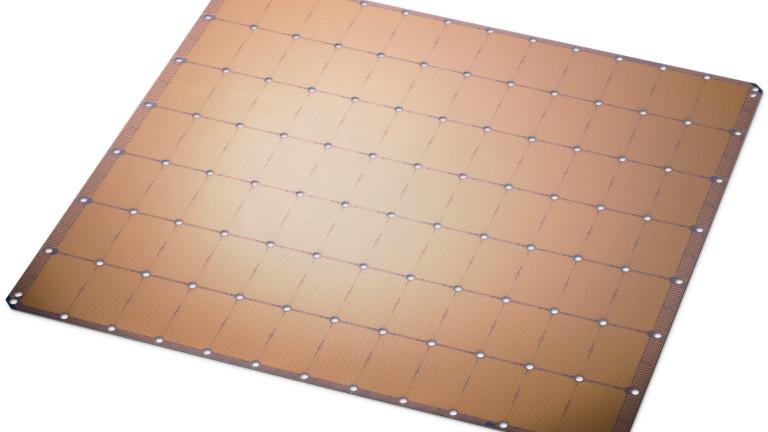 Стъртъп от Калифорния изобрети най-големия компютърен чип в света. Компанията