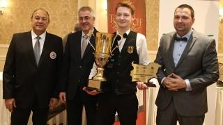 Главният секретар на ММС награди победителите от Европейските първенства по снукър в София