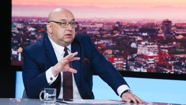 Министърът на спорта - Красен Кралев, бе гост в студиото