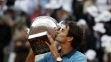 Федерер е спечелил близо 50 милиона долара от наградни фондове