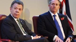 """Колумбия постига """"съществен напредък"""" за мир с ФАРК, обяви президентът Сантос"""