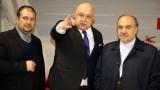 """Министър Кралев представи на иранския си колега Масуд Солтанифер """"Арена Армеец"""" и """"златните"""" момичета"""