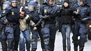Над 200 ареста в Дания заради протестите в защита на Младежкия дом