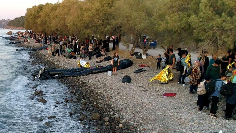 265 мигранти пристигнали на о.Лесбос за 24 часа