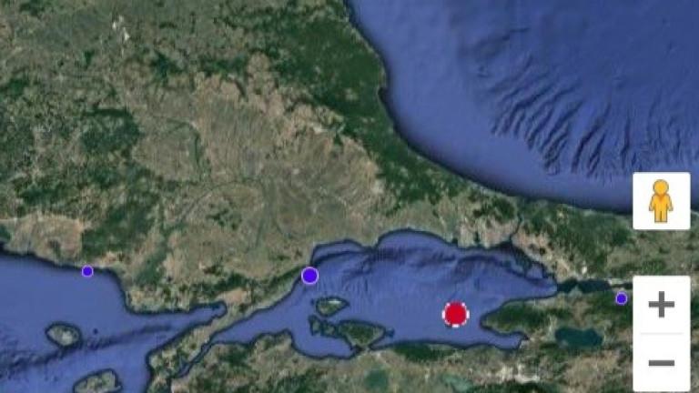 Земетресение в Истанбул усетено и в България