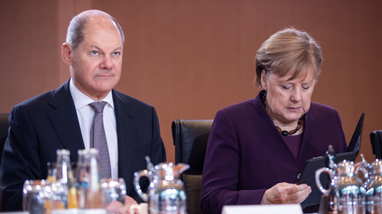 Финансовият министър на Германия Олаф Шолц е кандидатът на Социалдемократическата