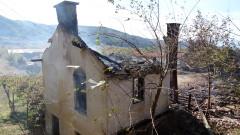 Изгоря постройка в двора на Опитната станция по тютюна в Рила