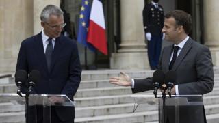 Макрон скастри Турция за НАТО, настоя за повече съгласуваност в алианса