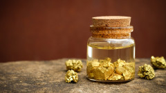 Търсенето на злато за инвестиции подскочи с 80%