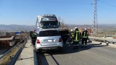 Катастрофа с камион затвори главния път за Русе - Плевен