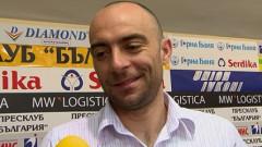 Саша Симонович: Ако не може някой да играе под напрежение, явно не е за Левски