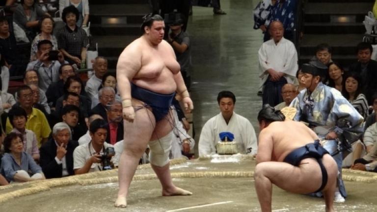 Аоияма завърши есенния турнир по сумо в Токио с отрицателен баланс