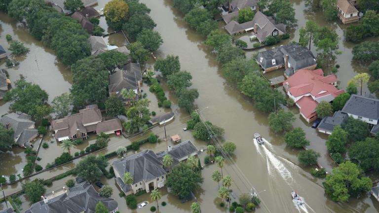 Икономическите разходи от природни бедствия вследствие на климатичните промени достигнаха