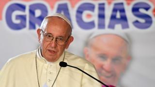 Папата моли Христос да помогне на Венецуела