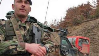 Първа жертва на ООН силите в Косово
