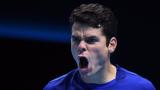 Милош Раонич на полуфинал в Лондон