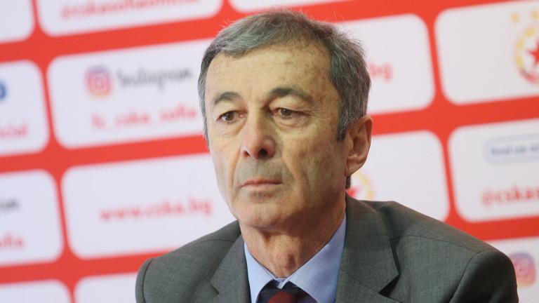 Пламен Марков пред ТОПСПОРТ: Инвестициите за стадиона ще бъдат само от ЦСКА, стремим се към титла