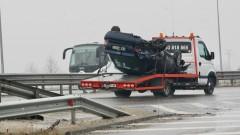 21 коли се удариха на столичния околовръстен път