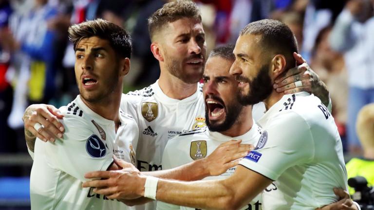 Реал Мадрид 2 : 1 Атлетико Мадрид 63′ ГОЛ! Рамос