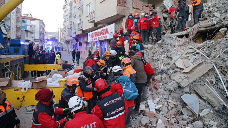Земетресение с магнитуд 5,1 по скалата на Рихтер разтресе вилаета