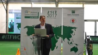 Президентът на Световната тенис федерация идва в България