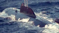 "Руска подводница изстреля ракета ""Булава"" в Баренцово море"