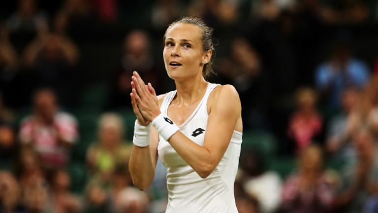 Словачката Магдалена Рибарикова победи французойката Кристина Младенович с 7-5, 1-6,