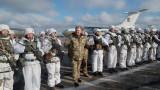 Украйна трупа военна мощ на границата с Русия