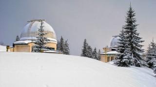 Пуснаха тока на обсерваторията Рожен