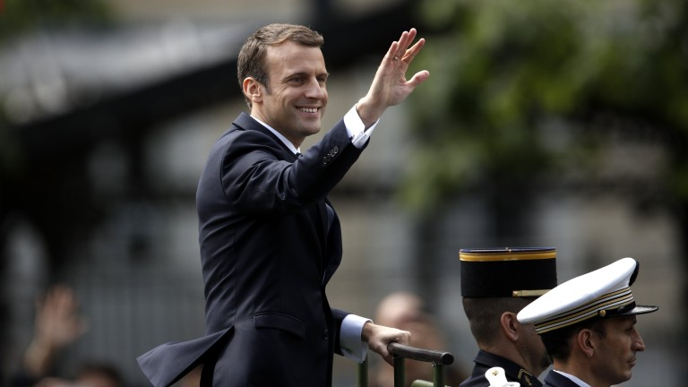 Партията на Макрон печели на първи тур на парламентарните избори в чужбина